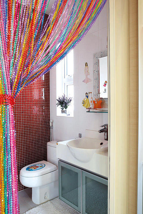 7 great children s bedrooms in hdb flats home decor for How often should you change your shower curtain