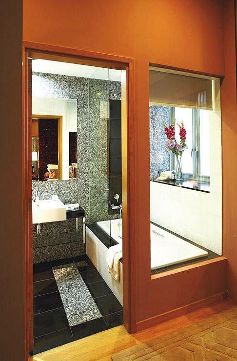 built in alcove bathtub