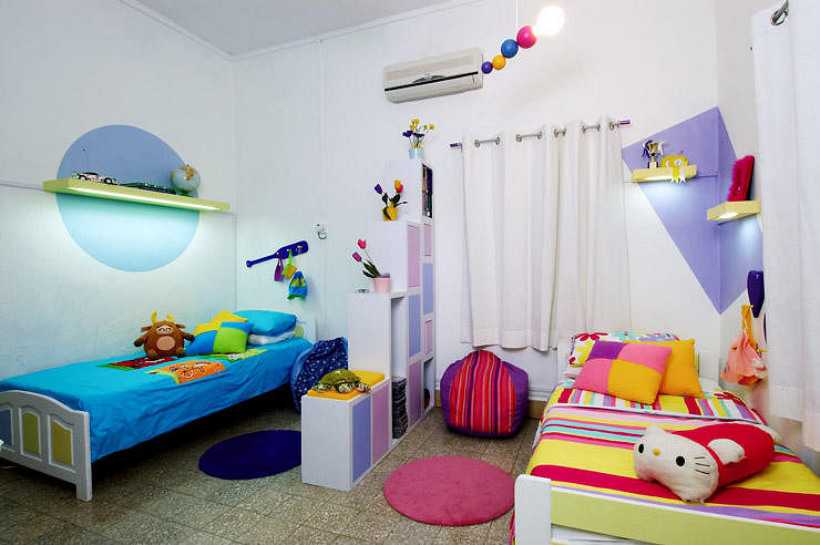 How To Design A Shared Bedroom For Two Young Siblings