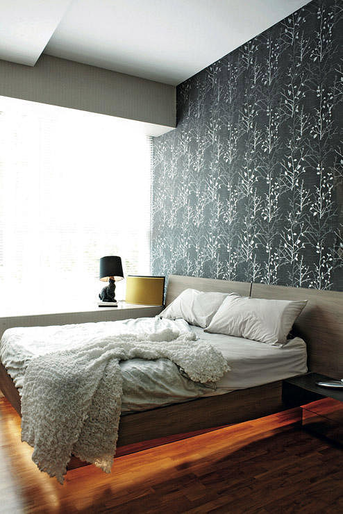 Bedroom Design Ideas 5 Bedrooms With Wallpaper Feature Walls Home Decor Singapore