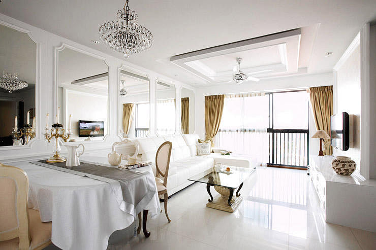 HDB Flat With An Effortlessly Stylish Classical Look Home Decor Singa