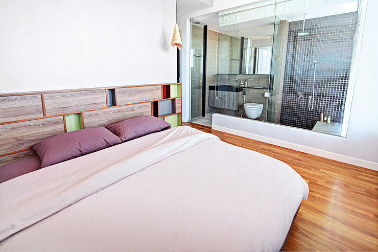 Master Bedroom Hdb 7 open-concept bathrooms for your hdb flat | home & decor singapore