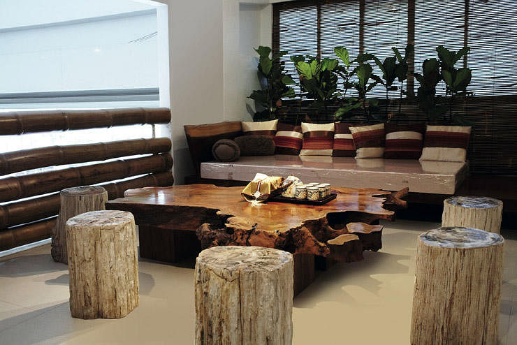 Raw Wood Dining Table Singapore Alasweaspire