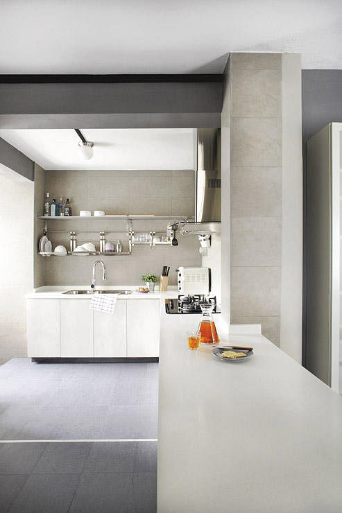 10 Stylish Open Concept Kitchens With Peninsula Counters In Hdb