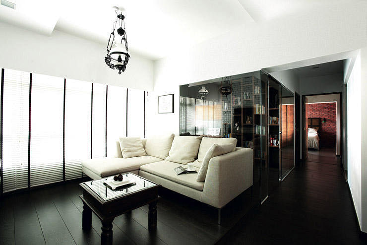 Renovation How To Go Open Concept And Brighten A Dark Home Home Decor Singapore