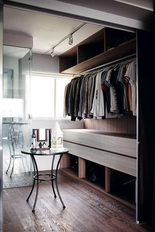 7 Ways For Walk In Wardrobes In Hdb Flats Home Amp Decor