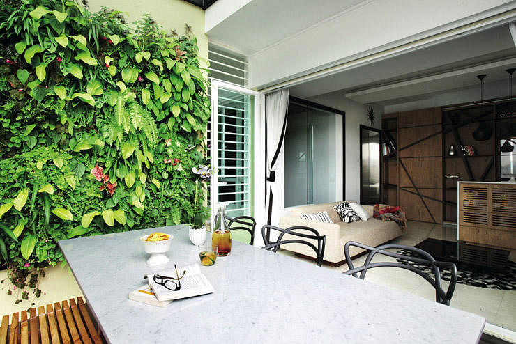 Renovation key things to note for a balcony dining area for Balcony ideas singapore