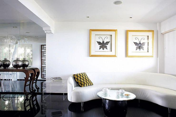 Modern Oriental Antique Furnished Three Room Hdb Flat Home Decor Singapore