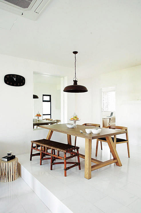 Dining Room Design Ideas Mix Wood Tones For Your Table And Chairs