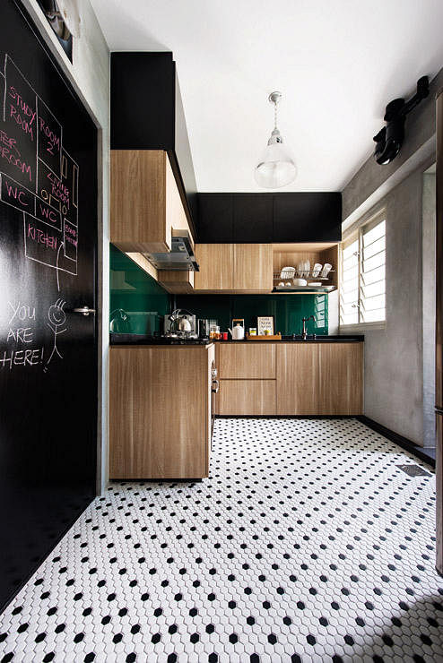 Home decor singapore home u0026 decor singapore artful house interior design interior design - Retro flooring kitchen ...