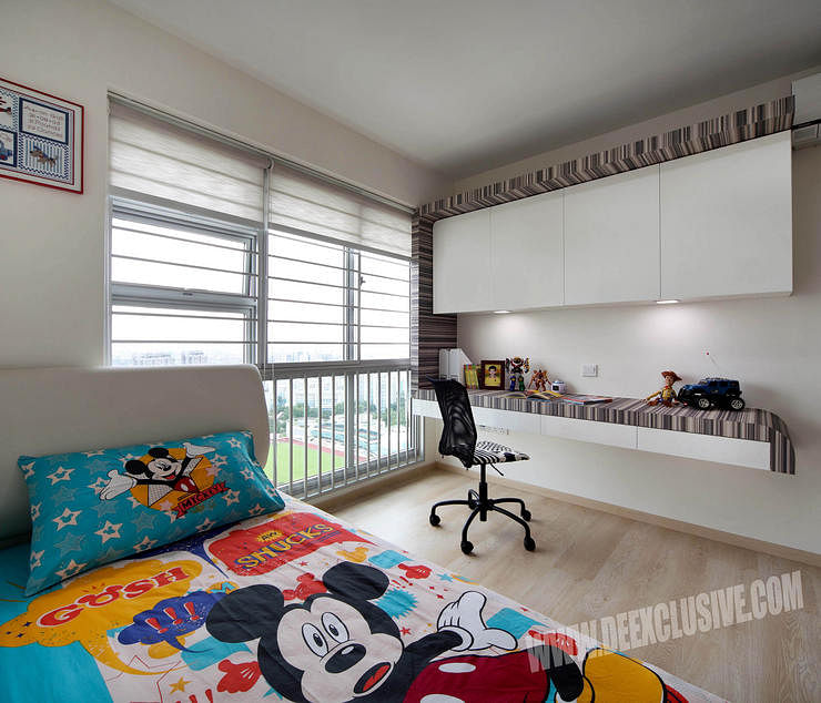 bedroom & study room design | Home & Decor Singapore