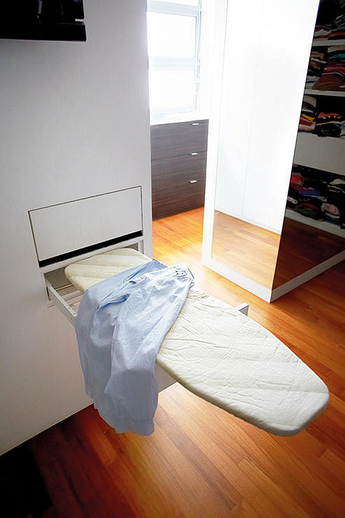 A Built In Ironing Board Solves The Problem Of Where To Store It, And Makes  Ironing So Much More Convenient. Idea: