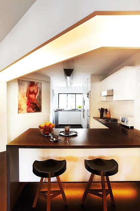 Virtual Kitchen Design Hdb Singapore: 4-Room HDB Flat With A $100,000 Reno Price Tag