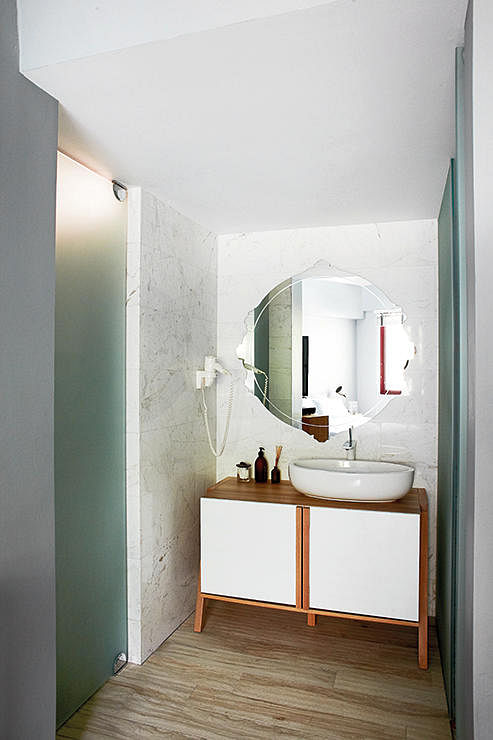 Concrete Bathroom Sink Vanities