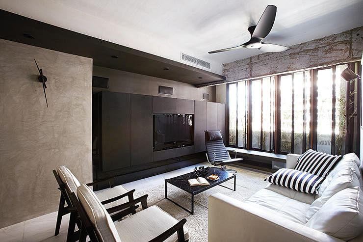 House Tour An Interior Designer 39 S Mod Industrial Hdb Flat