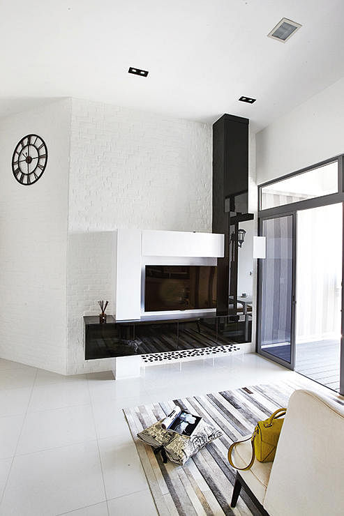 A Monochrome HDB Flat With Soft Touch Home amp Decor