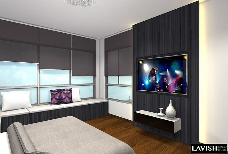 Home decor singapore for Feature wall ideas living room tv