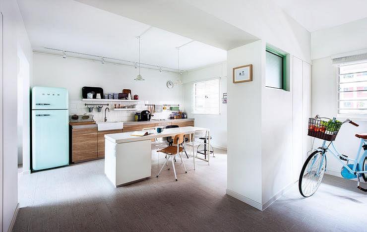 kitchen design, interior design, white space, minimalist, clear, sleek
