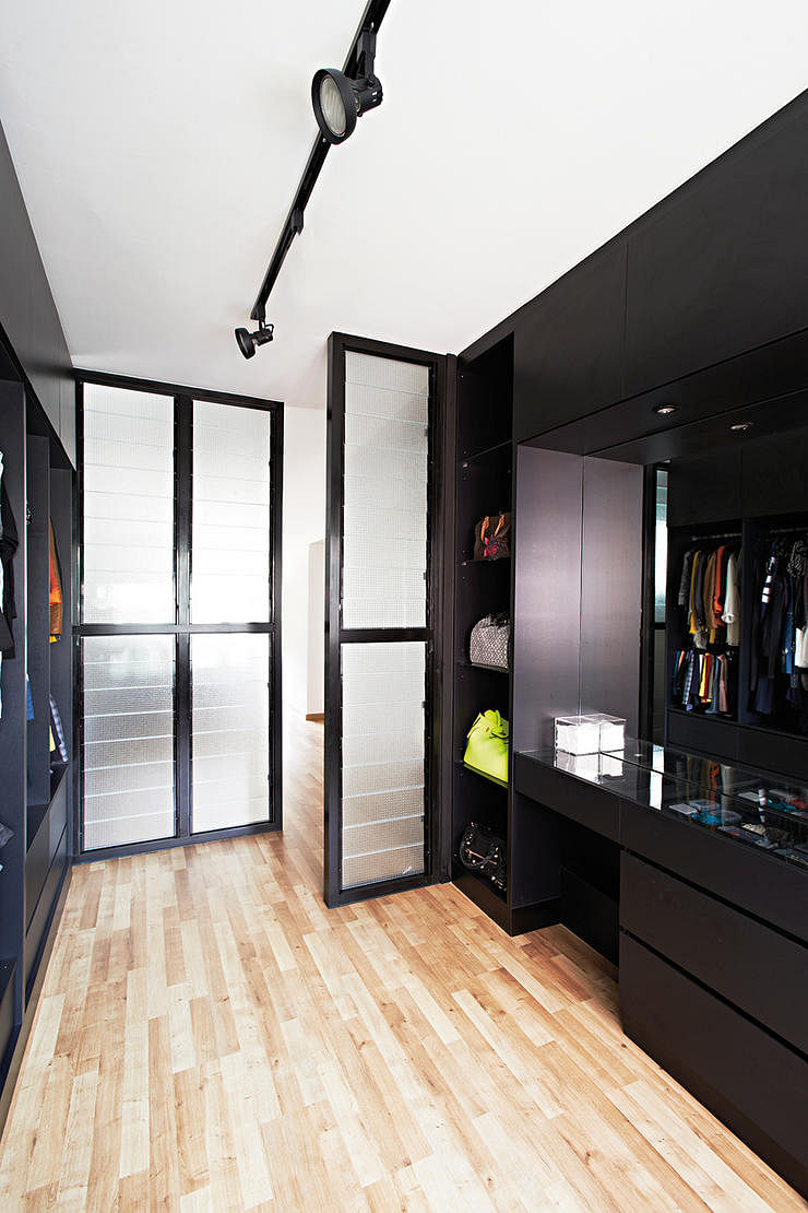 Hdb 3 Room Designer Decor: 7 Ways For Walk-in Wardrobes In HDB Flats