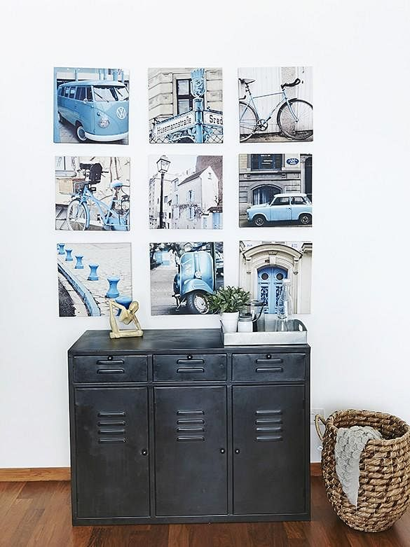 restore metal cabinet vintage
