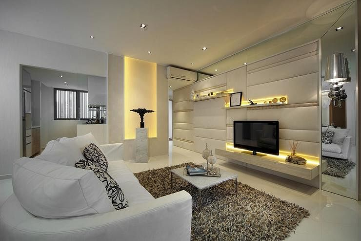 12 interior designers to check out home decor singapore for Condo ceiling design