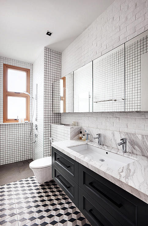 Bathroom Tiles Singapore 10 incredibly chic bathrooms with tile inspiration | home & decor