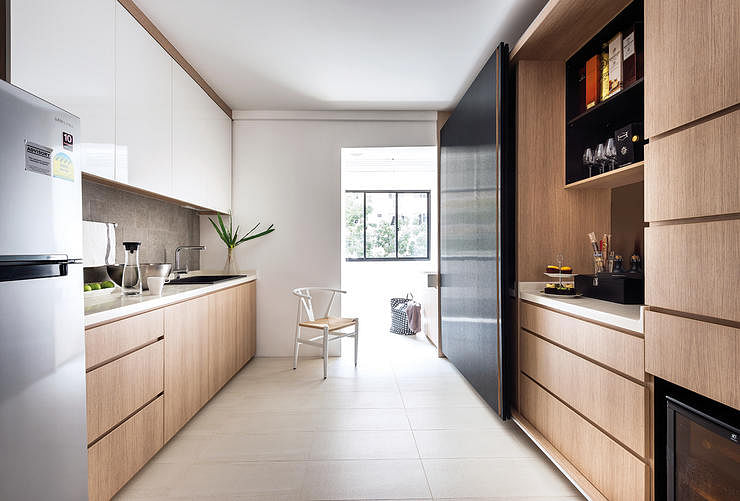 kitchen cabinet design singapore hdb a hdb four roomer that looks better than a condo home 510