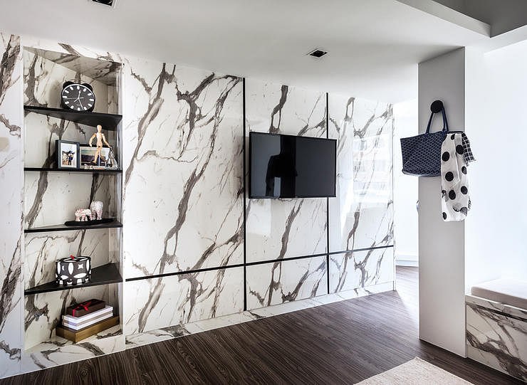 Wardrobe Surfaces That Double As Feature Walls Home