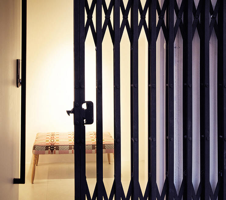 Hdb Home Design Ideas: Scissors Gate (Accordion Type)