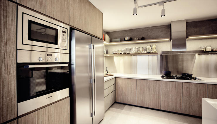 Renovation how to design a sleek modern kitchen home decor singapore Kitchen door design hdb