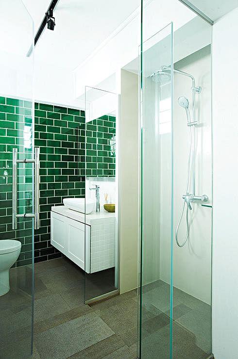 bathroom, renovation, wall finisihes, wall materials, mosaic, tiles