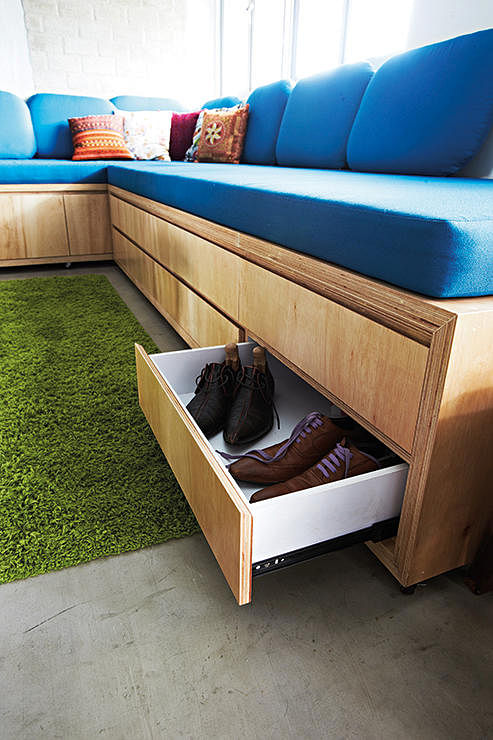 Too Many Things Little E Here Are 8 Storage Ideas You Need. Sofa With Storage  Compartments ...