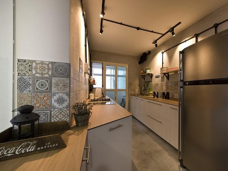 M3 Studio, Kitchen, Bohemian, Industrial