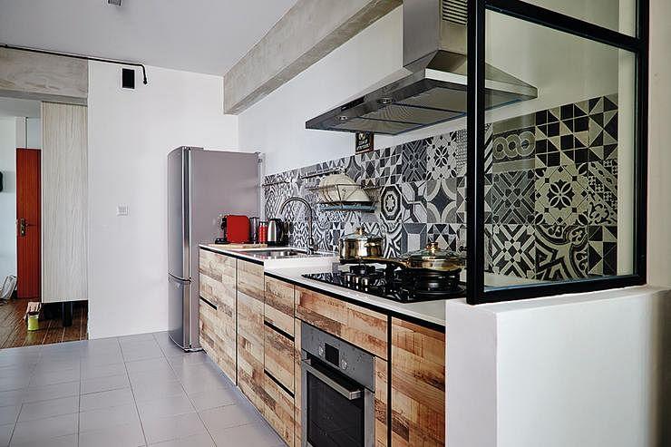 Kitchen design 5room hdb designs joy studio design gallery best design for Singapore hdb kitchen design