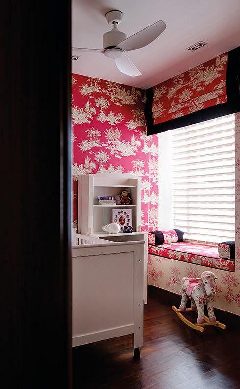 Wallpaper Kids Room Design Intervention