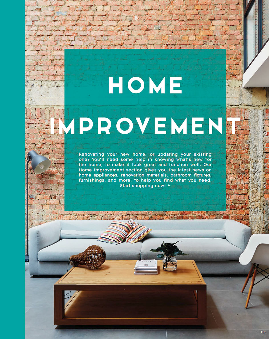 Special Home Improvement Section In August Issue Of Home Decor