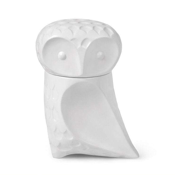 Owl canister by Jonathan Adler title=
