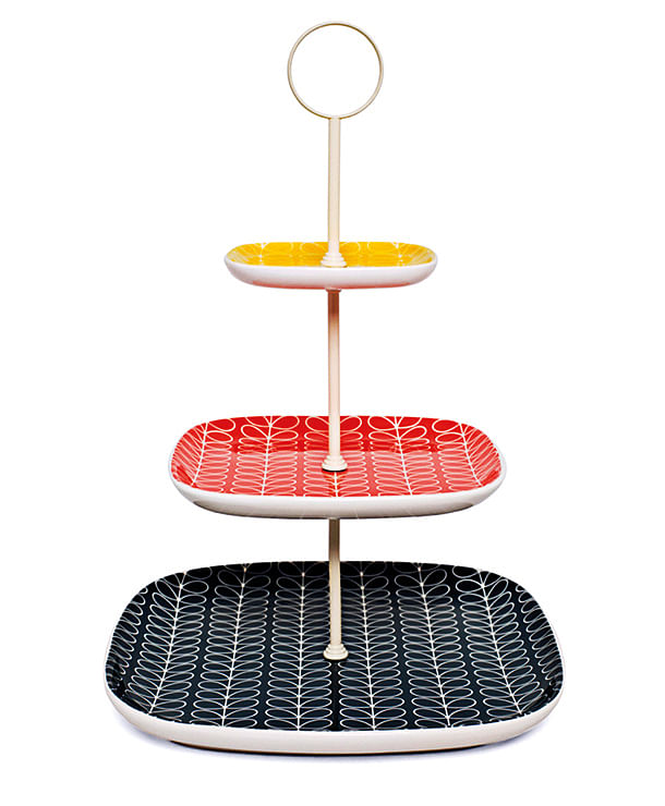 Orla Kiely cake stand title=