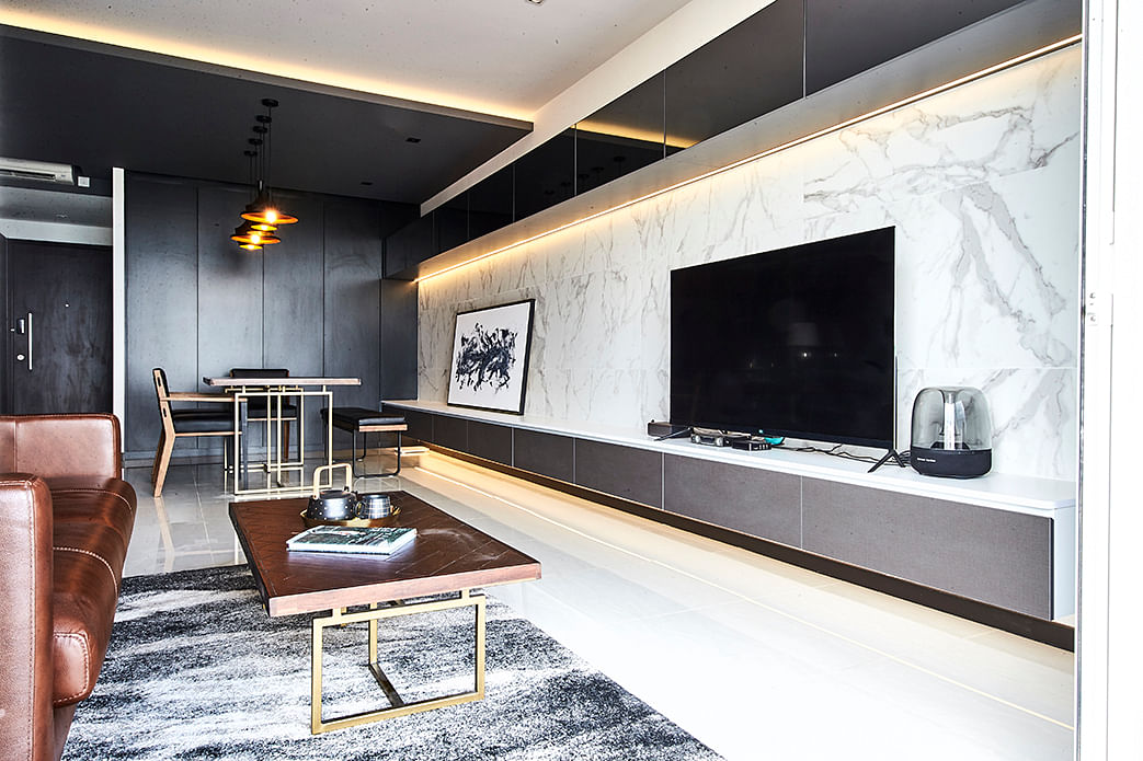 Sleek Aesthetic, a three-bedroom premium condo apartment in Lakeside, photo 3 of 7 title=