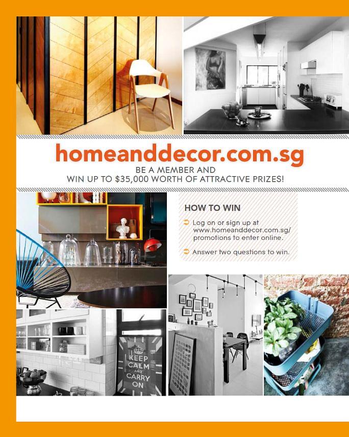 Homeanddecor Com Sg Special Giveaway Home Decor Singapore