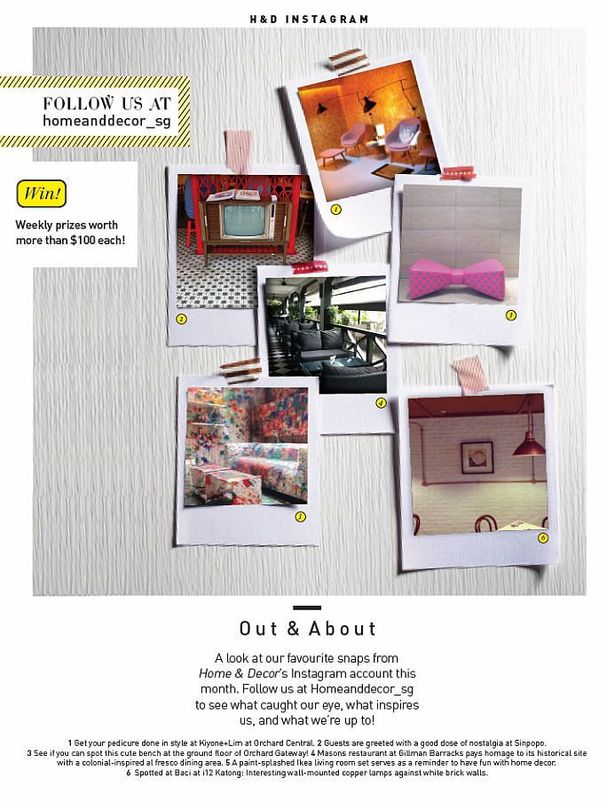 Instagram Weekly Giveaway Home Decor Singapore