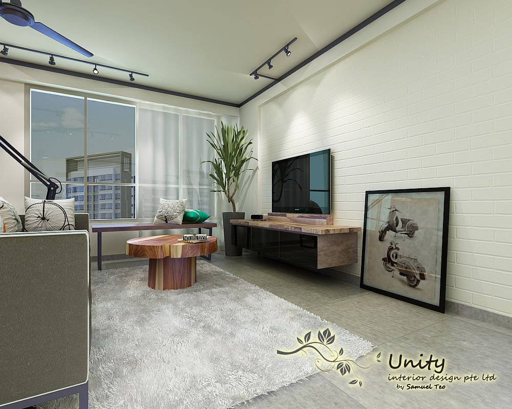 3d perspective of living area home decor singapore for Unity 3d room design