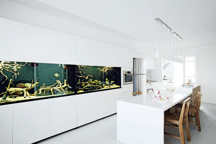 Resort-feel five-room HDB with hidden storage space - Home & Decor Singapore
