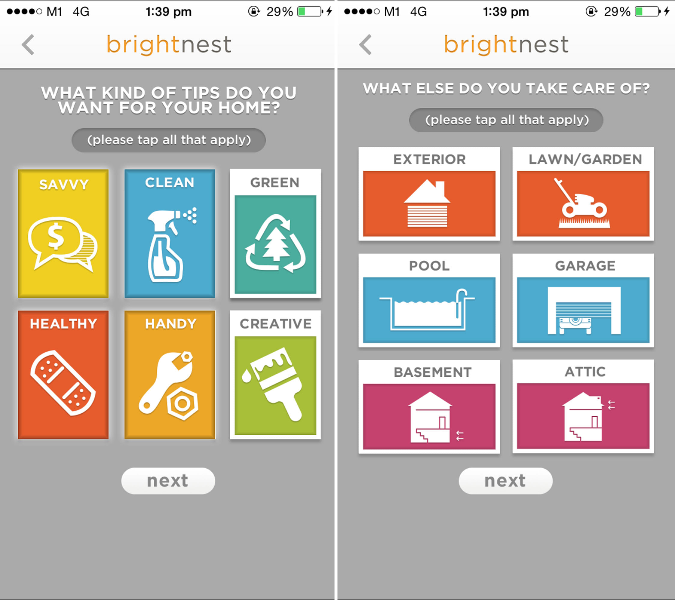 app, iphone, android, homeowner, renovation app, useful, bright nest