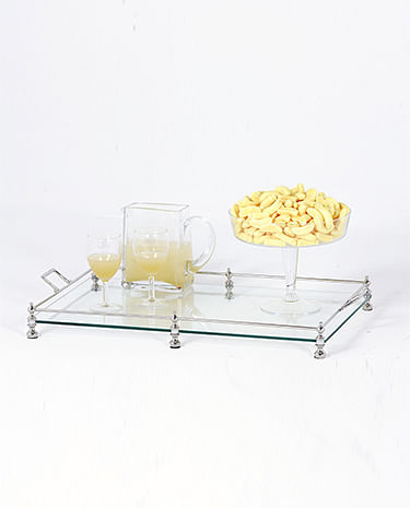 glass tray, proof living
