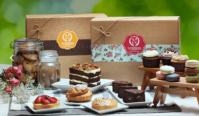 nom nom, box, subscription box, singapore, home owners, food, home delivery