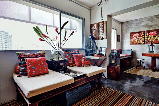 maximalist, maximalism, maximalist home design, home decor, living spaces, bali, thai