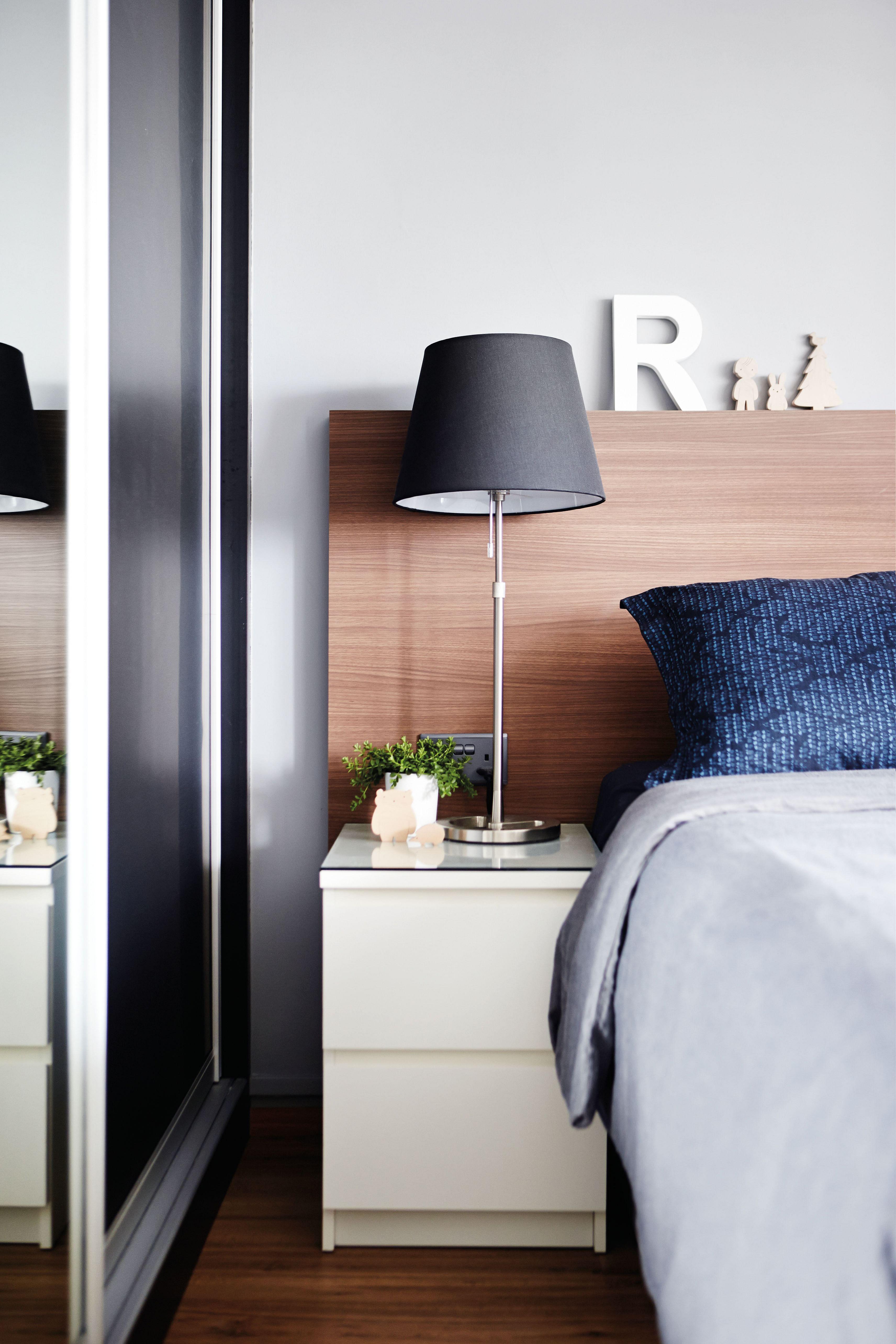 home design, interior design, neutral, masculine, dark, blue