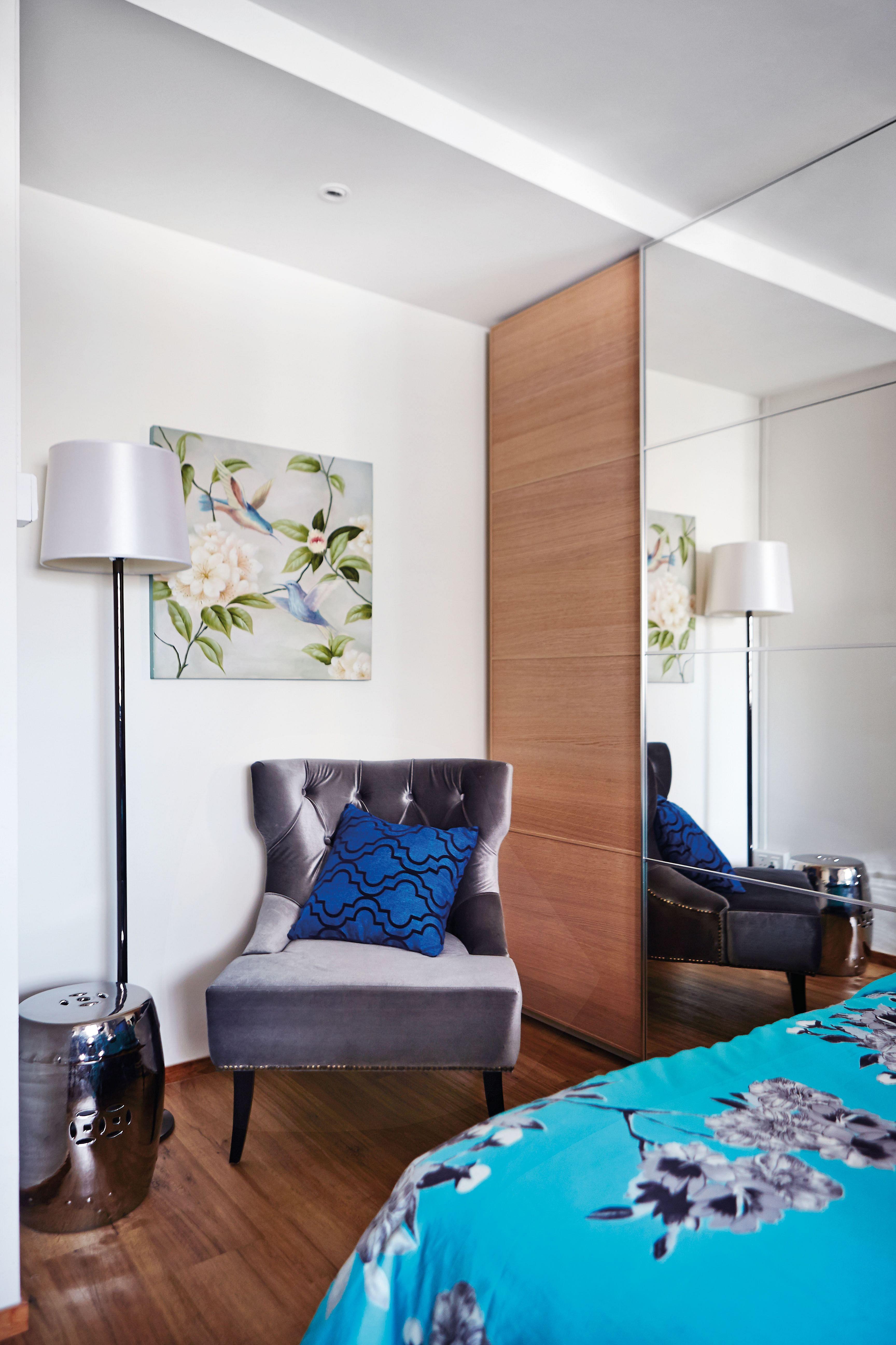 home design, interior design, guest room, colour scheme
