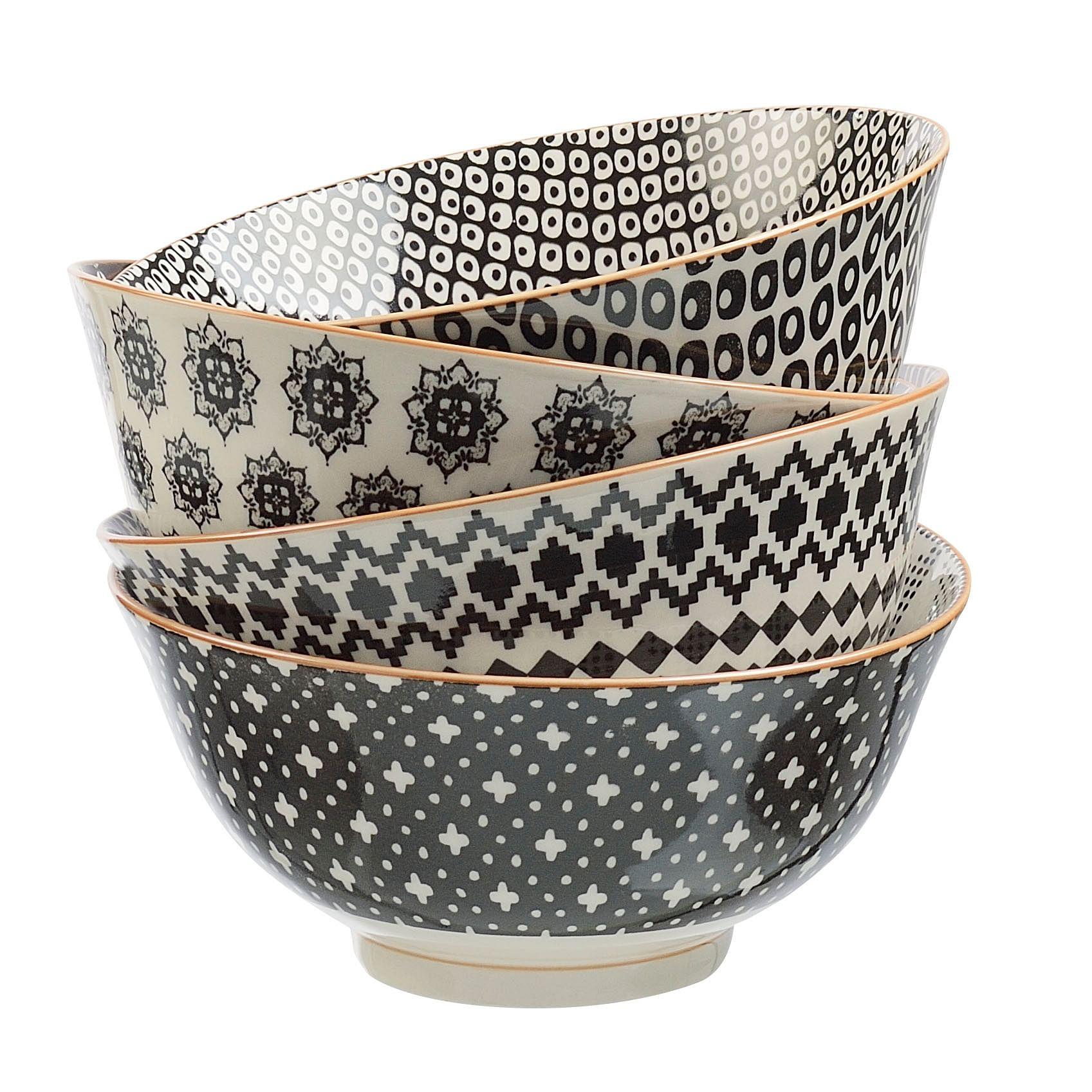 bowl, graphic prints, tableware